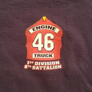 Firefighter OCFA Station 46 shirt